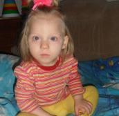 Ксения Геллерт, 2 года,  п.Зенгино, Кировская область