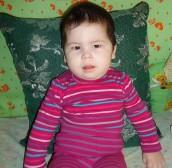 Камилла Фаузетдинова, 1 год, с. Аскино, Башкортостан