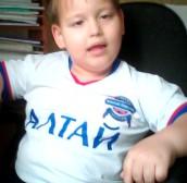 Николай Нохрин, 6 лет, Барнаул, Алтайский край