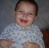 Анастасия Давыдова, 1 год, Хромцова, Свердловская область